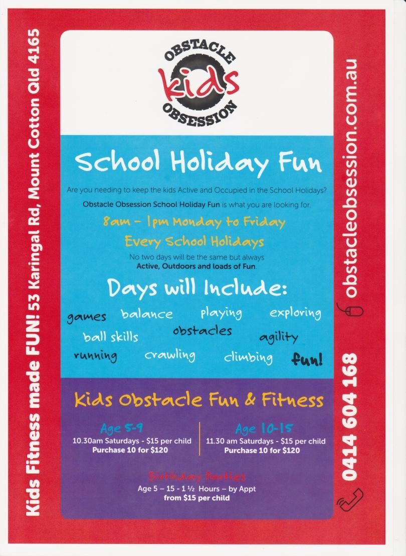 OO School Holiday Advertising