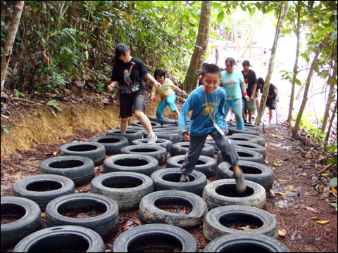 KIDS 1 Hour Obstacle Fun